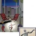 Fanch Ledan Sculpture : Balancing Act