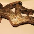 Fanch Ledan Sculpture : Leaning Lady