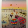 Ballooning Place de la Concorde - Image Size : 19x25 Inches