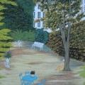 Le Jardin d'Elisa - Image Size : 23-5x16.5 Inches