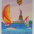 Le Vent de la Liberté - Image Size : 20x26 Inches