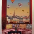 Les Boutiques de Paris - Image Size : 18x25 Inches