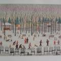 Parc Monceau - Image Size : 18x25 Inches