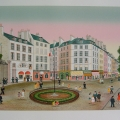 Rue du Faubourg St. Honoré - Image Size : 19x25 Inches