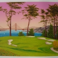 San Francisco Golf Club - Image Size-19x26 Inches
