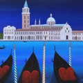 Storm in Venise - Image Size : 13x16 Inches