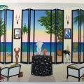Interior Dalinean - Image Size : 27x37 Inches