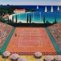 Monte Carlo Tennis Club - Image Size : 18x22 Inches