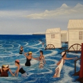 Nos Jolies Baigneuses - Image Size : 16x20 Inches